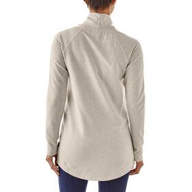 Patagonia Ahyna Cowl Maglietta a maniche lunghe Donna bianco